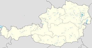 Map of Austria with markings for the individual supporters