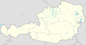 Map of Linz (Stadt) with markings for the individual supporters