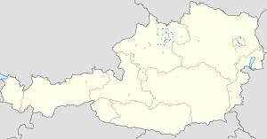 Map of Kirchschlag bei Linz with markings for the individual supporters