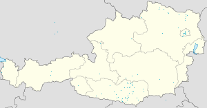 Map of Kärnten with markings for the individual supporters