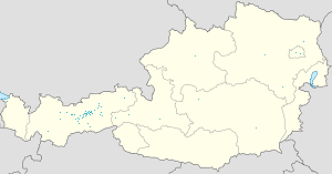 Map of Mils, Tyrol with markings for the individual supporters
