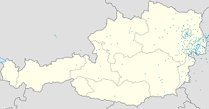 Map of Parndorf with markings for the individual supporters