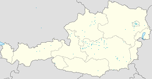 Map of Liezen with markings for the individual supporters
