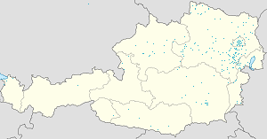 Map of Bezirk Baden with markings for the individual supporters