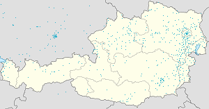 Map of Mönichkirchen with markings for the individual supporters