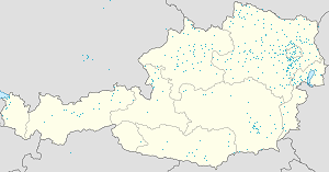 Map of Vienna with markings for the individual supporters