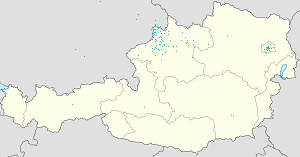 Map of Upper Austria with markings for the individual supporters