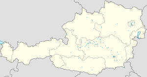 Map of Liezen District with markings for the individual supporters