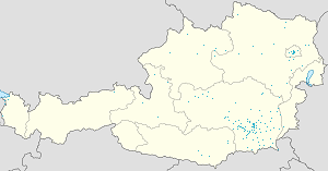 Map of Köflach with markings for the individual supporters