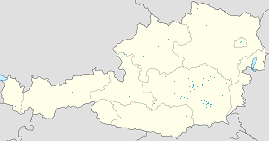 Map of Leoben with markings for the individual supporters