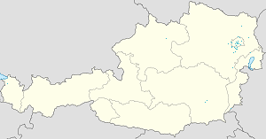 Map of Lower Austria with markings for the individual supporters