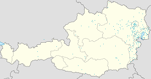 Map of Burgenland with markings for the individual supporters