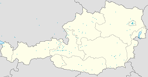 Map of Saalbach-Hinterglemm with markings for the individual supporters