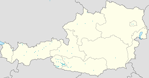 Map of Tyrol with markings for the individual supporters