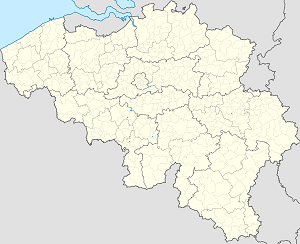 Map of Belgium with markings for the individual supporters