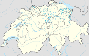 Map of Canton of St. Gallen with markings for the individual supporters