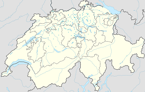 Map of Zürich with markings for the individual supporters