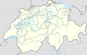 Map of Schweiz with markings for the individual supporters