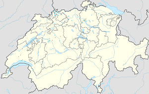 Map of Kanton Basel-Stadt with markings for the individual supporters