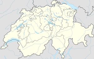 Map of Canton of Lucerne with markings for the individual supporters