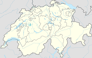 Map of Bern with markings for the individual supporters