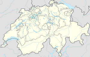 Map of Kanton Bern with markings for the individual supporters