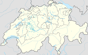 Map of Thun with markings for the individual supporters