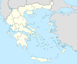 Map of Greece with markings for the individual supporters