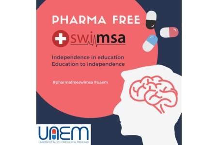 Bild zur Petition mit dem Thema: For a PharmaFREE Swimsa and an independent Medical Education
