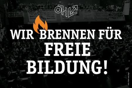Forderung an ÖVP und FPÖ: Gegen die Einführung von Studiengebühren! - Online-Petition