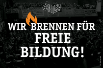 Call on ÖVP and FPÖ: Against the implementation of tuition fees!