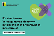 Bild zur Petition mit dem Thema: For better mental health care for people with mental illnesses in Austria (Verkleinerte Ansicht)