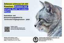 Bild zur Petition mit dem Thema: Castrate, marking and register for all cats who will going out of the house in Dortmund (Verkleinerte Ansicht)
