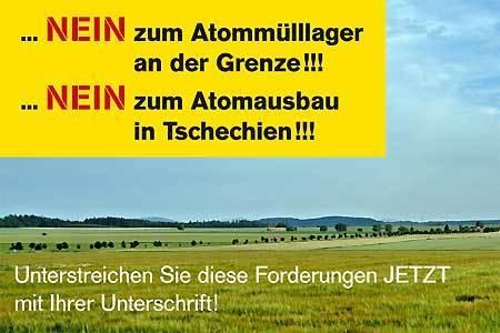 Bild zur Petition mit dem Thema: Kein Ausbau von bestehenden AKWs! Kein Atommüll an der österreichischen Grenze!