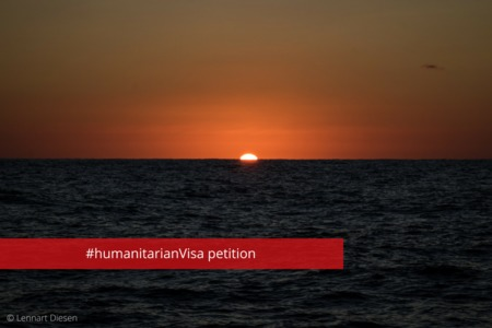 Bild zur Petition mit dem Thema: Call for EU humanitarian visas to stop dying at sea