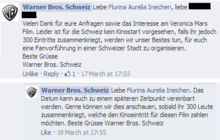 """The Veronica Mars Movie"" in der Schweiz / en Suisse / in Switzerland"