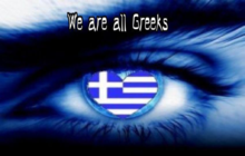 we-are-all-greek´s  deutsch-internationaler Marsch nach Athen