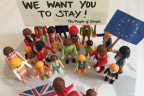 We want you to stay! European solidarity with british people to vote again!