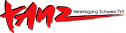 A szervezet logója TanzVereinigung Schweiz TVS