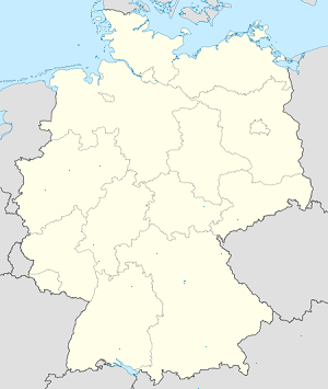 Map of Bayern with markings for the individual supporters