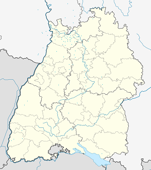 Map of Meckesheim with markings for the individual supporters