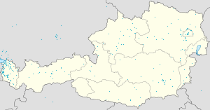 Map of Vorarlberg with markings for the individual supporters