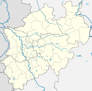 Map of Heinsberg with markings for the individual supporters