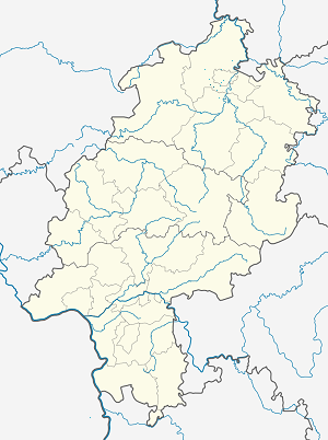 Map of Schauenburg with markings for the individual supporters