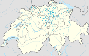Map of Switzerland with markings for the individual supporters