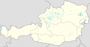 Map of Ebensee with markings for the individual supporters