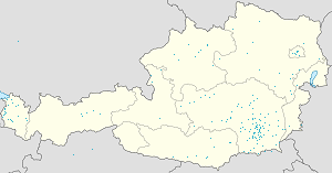 Map of Steiermark with markings for the individual supporters