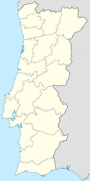 Map of Portugal with markings for the individual supporters
